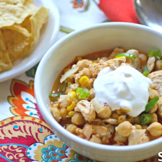 Hearty Chickpea And Chicken Chili