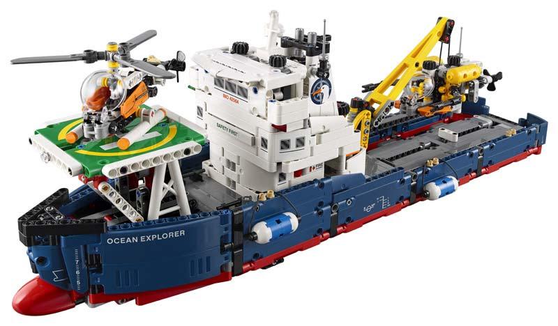 Contenido de Lego® 42064 Explorador Oceánico