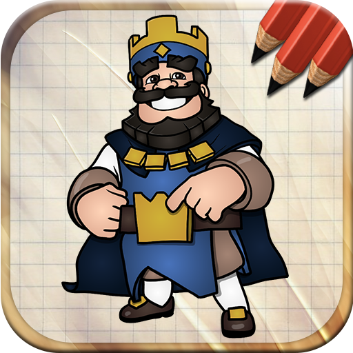 Easy Draw Royale Clash