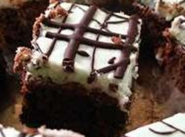 Chocolate And Creme De Cacao Bars Recipe