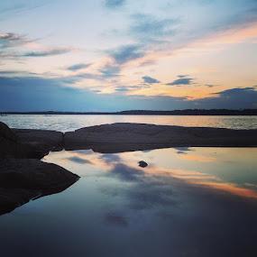 Oceanview by Mads Francke - Landscapes Sunsets & Sunrises