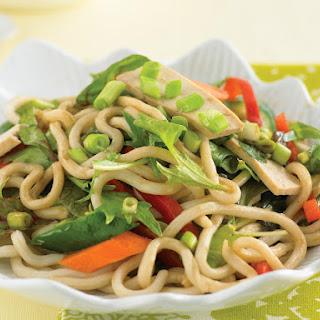 Tofu Udon Salad