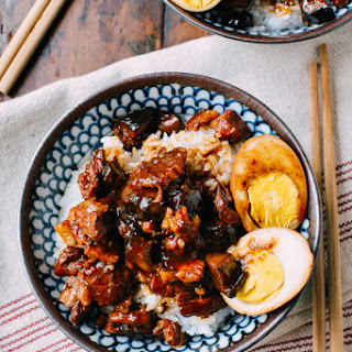 Lu Rou Fan (Taiwanese Braised Pork Rice Bowl)