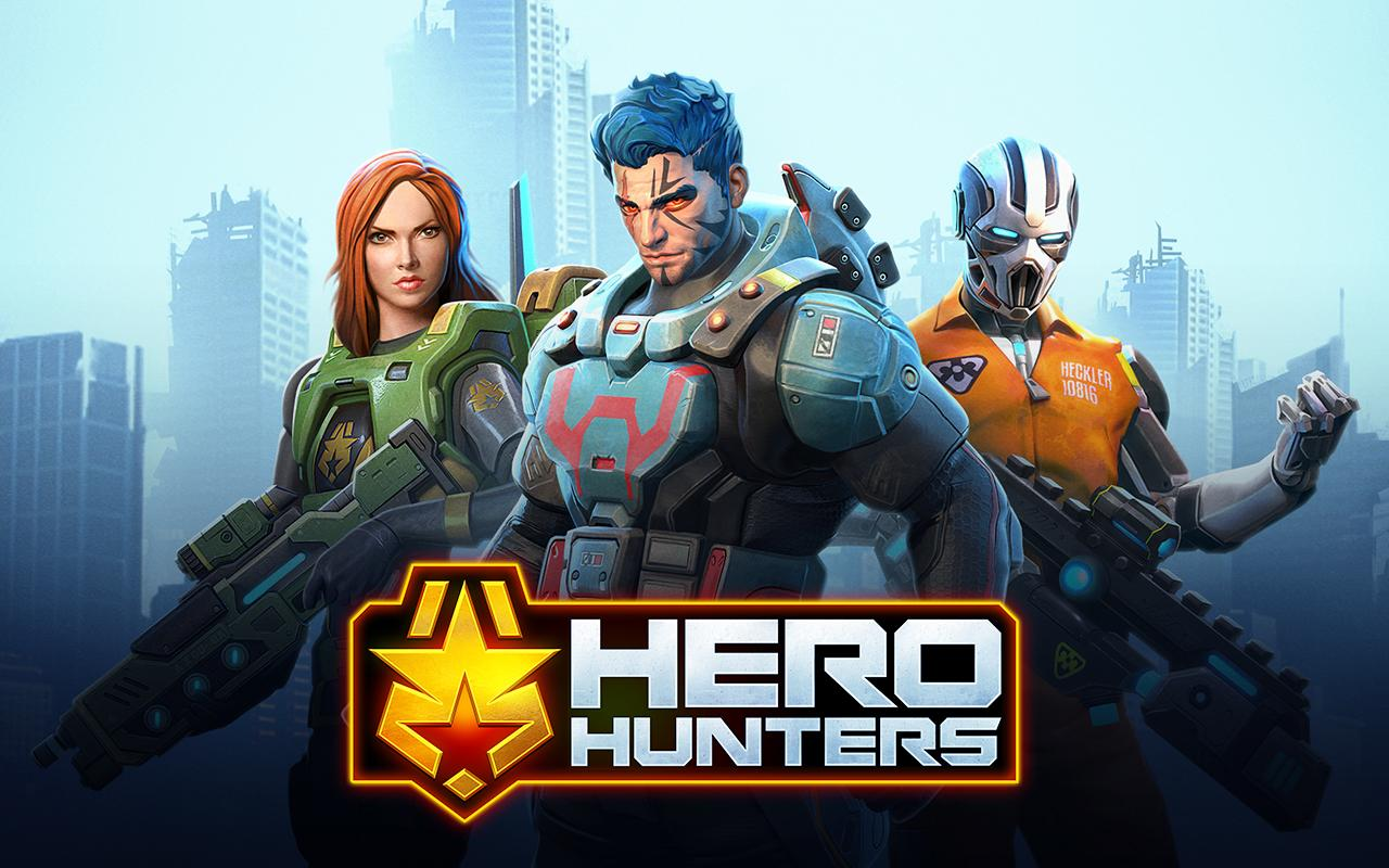 Hero Hunters- screenshot