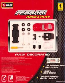 Bộ lắp ghép xe 250 GTO (Bburago Race & Play Assembly Kit) - Bburago 18-35219