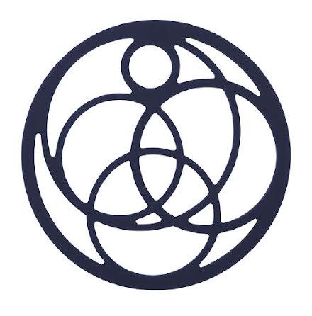 Grytunderlägg Circle Midnattsblå