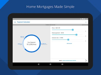 Zillow Mortgage Calculator Screenshot 6
