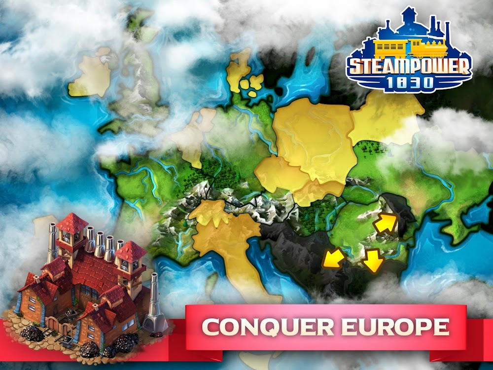 SteamPower 1830 Railroad Tycoon – (Android Games) — AppAgg