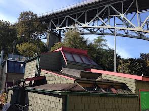 Photo: Houseboat Dock and Aurora Bridge