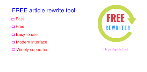 Article Rewriter and Spinner Tool 1 1 0 (Android) - Download APK