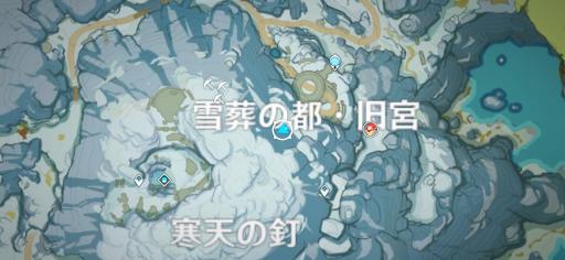 寒天の釘_マップ