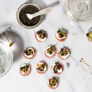 Caviar Canapes Recipes.