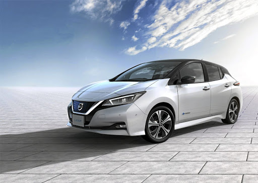 The new Nissan Leaf, coming to SA later this year is the World Green Car of the Year. Picture: NEWSPRESS UK