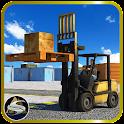 3D Forklift Challenge 2015 icon