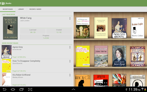 Aldiko Book Reader screenshot 7