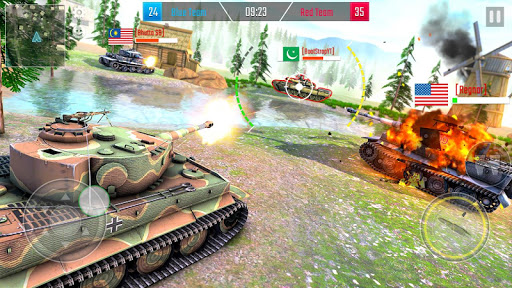 Battleship of Tanks - Tank War Game  screenshots 7