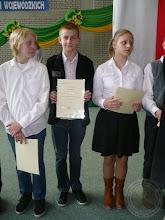 Photo: Laureaci Wojewódzkich Konkursów Przedmiotowych - Białoszewski Jakub 6c