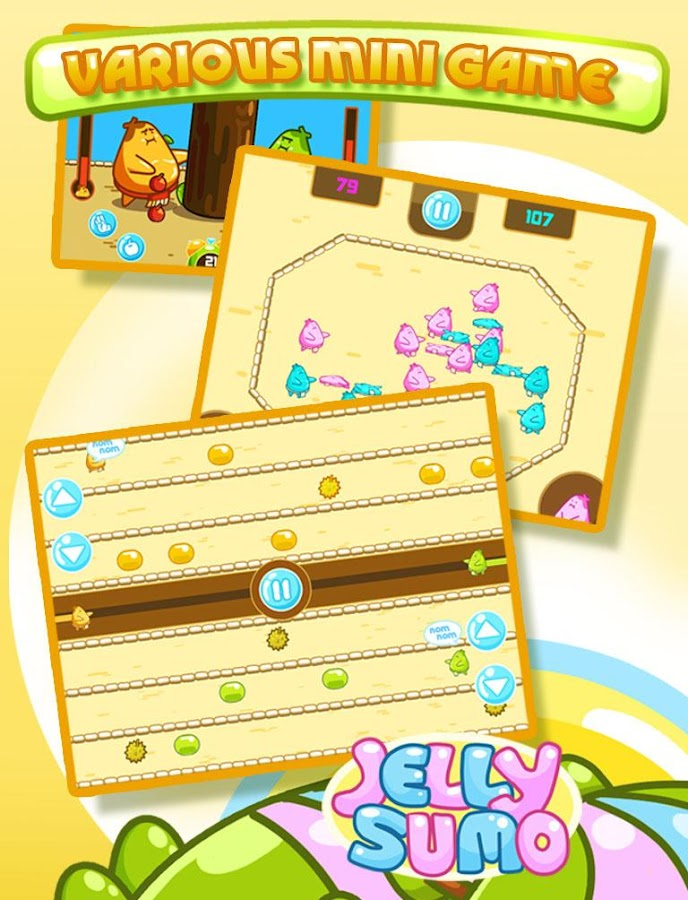 Jelly Sumo- screenshot