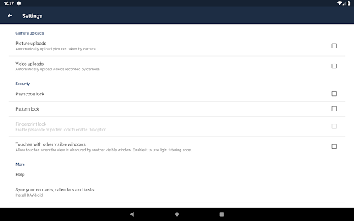 Screenshot for ownCloud in United States Play Store