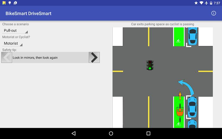 android BikeSmart-DriveSmart Screenshot 7