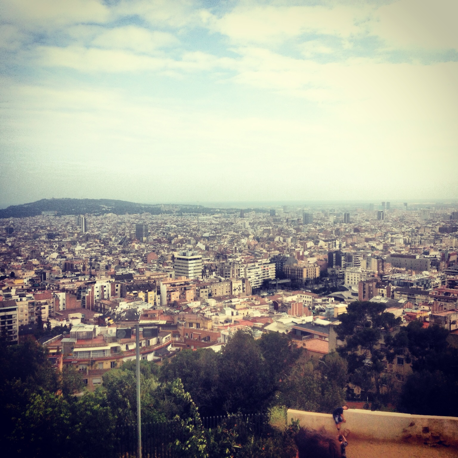 Barcelona, Park Güell: Sprawling City Views - Urban Landscapes Yearning to be Explored