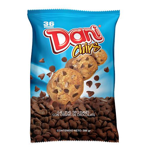 galletas danibisk dani chips display 36und