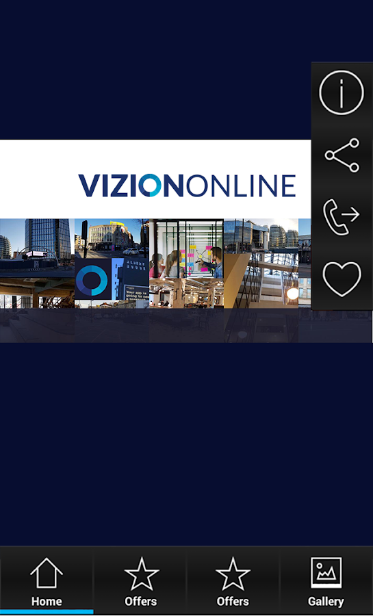 VizionOnline- screenshot