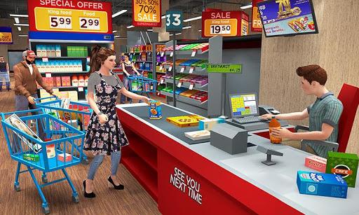 Super Market Atm Machine Simulator: Shopping Mall  screenshots 1