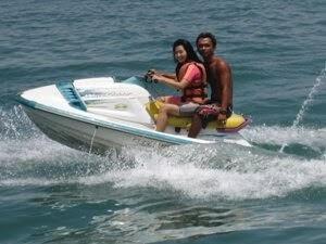 Bali jet ski