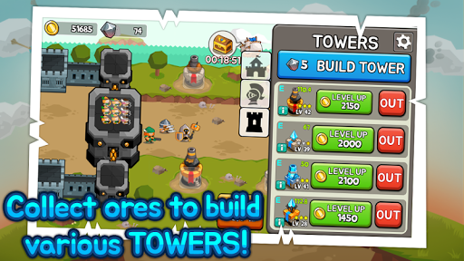 Grow Tower: Castle Defender TD  {cheat|hack|gameplay|apk mod|resources generator} 4