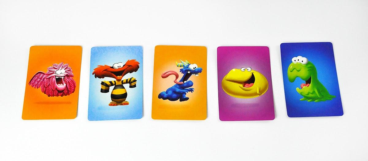 Ciasteczkowe Potworki - karty graczy