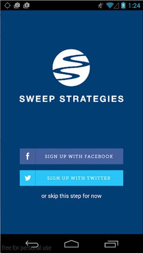 Sweep Strategies