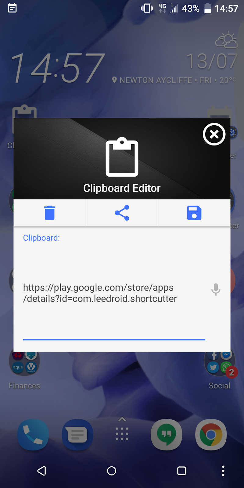 Shortcutter Quick Settings, Sidebar & Shortcut's. Screenshot 5