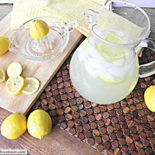 Naturally Sweetened Lemonade Recipe