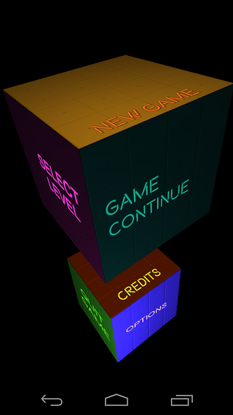 In Cube Action- screenshot