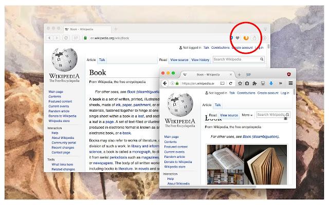Open in Firefox