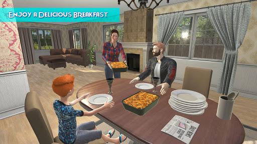 Télécharger Gratuit Virtual Mother Happy Housewife Family Game APK MOD (Astuce) screenshots 5