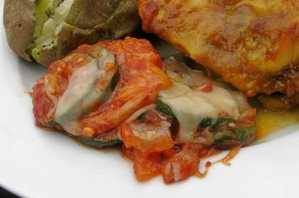 Sauteed Italian Zucchini