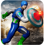 Captain USA Super hero: Avenger Battle Icon