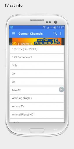 玩免費媒體與影片APP|下載Austria TV sat info app不用錢|硬是要APP
