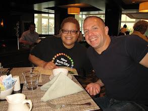 Photo: My good friend activist, author, and SiriusXM talk show host Michelangelo Signorile,
