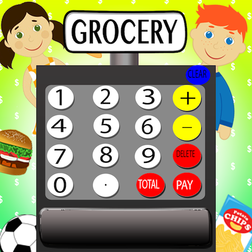 Kids Cash Register Supermarket