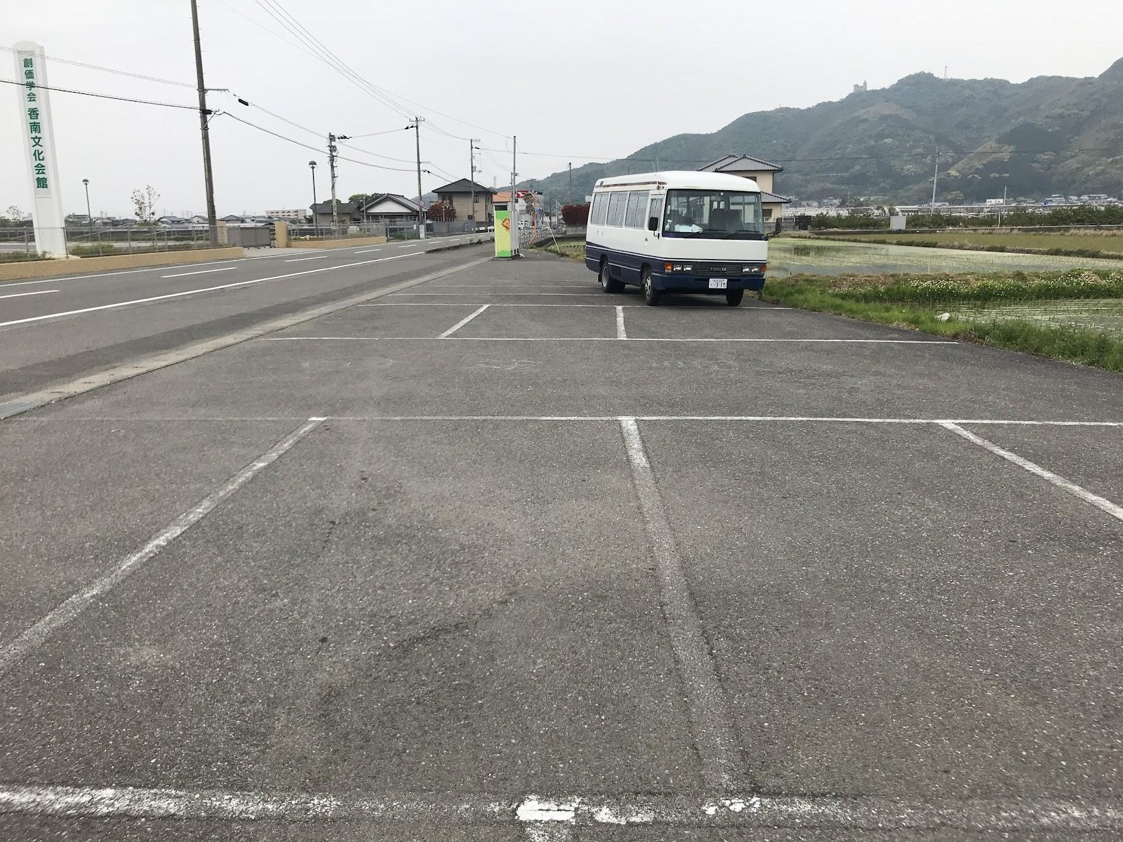 曽我の駐車場