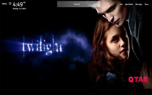 Twilight Wallpapers Theme Movie New Tab