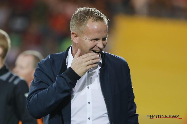 """Vrancken, le coach de Malines évacue la pression : """"Seul un club fait pire que nous concernant la valeur marchande de l'équipe"""""""