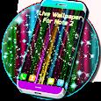 Live Rainbow Glitter Live Wallpaper icon