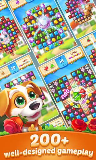 Télécharger Gratuit Jewel Town - Most Match 3 Levels Ever apk mod screenshots 2