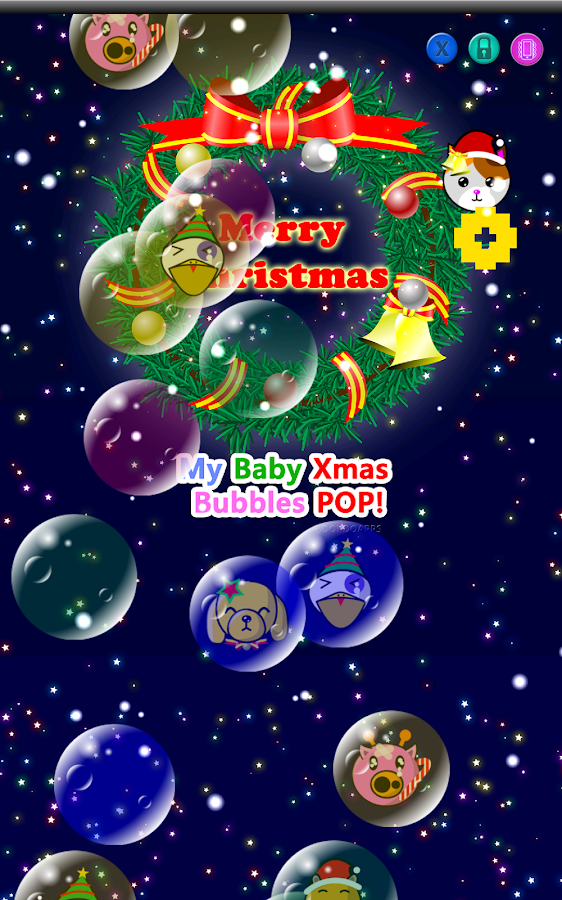 My baby Xmas (Bubbles pop!)- screenshot