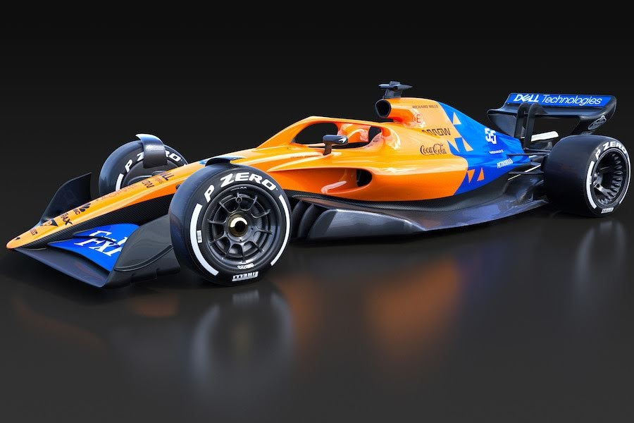 F1マクラーレン2021