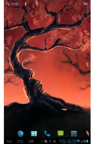 Woody Land :  Tree live wallpaper Parallax 3D free 2.5.5 screenshots 3